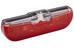 Trelock LS 613 duo flat Rücklicht schwarz/rot